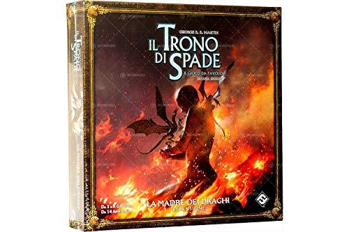 Asmodee-Il Trono di Spade Il Gioco da Tavolo 2nd Edizione, La Madre dei Draghi, 9076