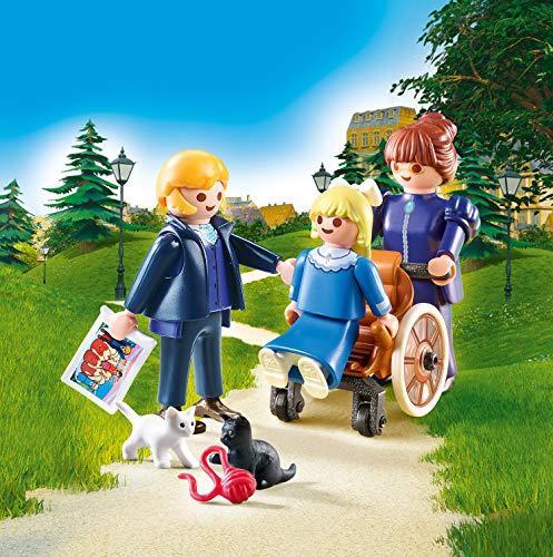 Clara, su padre y la señorita Rotenmeyer Playmobil - Heidi (70258)