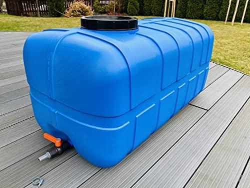 Sterk Plast Wassertank 300L, Trinkwassertank, Frischwassertank, Wasserspeichertank