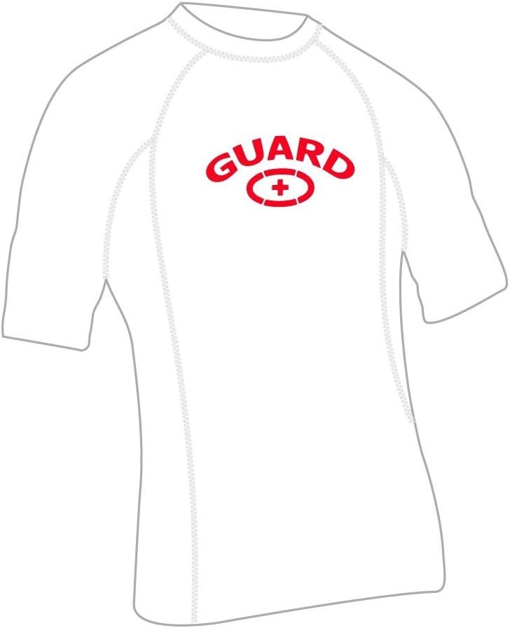 Adoretex Men's Guard Short Sleeve Rashguard UPF 50+ Swim Shirt