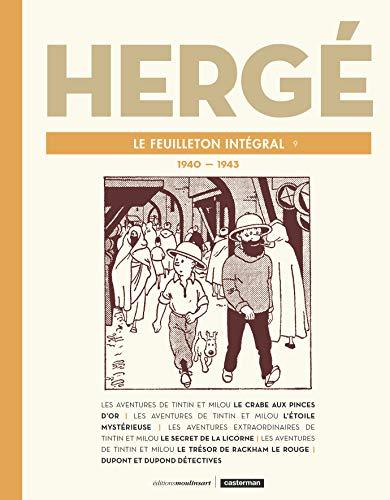 Preisvergleich Produktbild Hergé,  le feuilleton intégral : 1940-1943 (Hergé,  le feuilleton intégral (9))