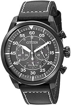 Citizen Eco-Drive Stainless Steel Quartz Men's Casual Watch