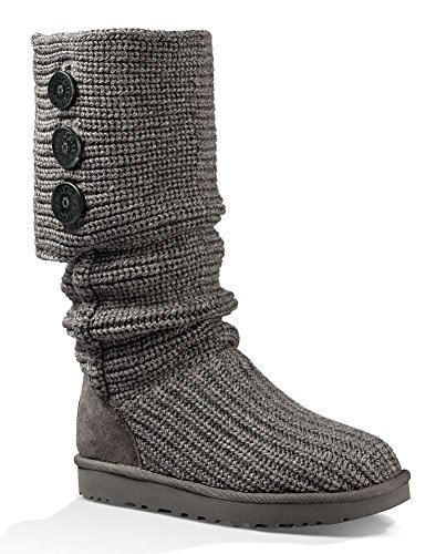 wool boots gray color