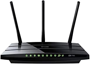 TP-LINK Archer C7 AC1750 Dual Band Wireless AC Gigabit Router, 2.4GHz 450Mbps+5Ghz 1350Mbps, 2 USB Ports, IPv6, Guest Network - 2.40 GHz ISM Band - 5 GHz UNII Band - 1750 Mbps Wireless Speed - 4 x Net