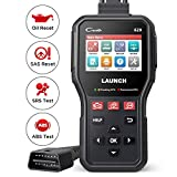 LAUNCH CR629 Scan Tool ABS SRS OBD2 Scanner Car Code Reader with Active Test, Oil/SAS Reset, Full OBD2 Functions, PC Printing Lifetime Free Update Diagnostic Tool for DIYers