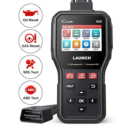 LAUNCH CR629 OBD2 Scanner Lettore di Codici Diagnostica Auto ABS Airbag SRS Cambio Olio Reset SAS OBDII Funzioni Complete [ Nuovo 2021 ]