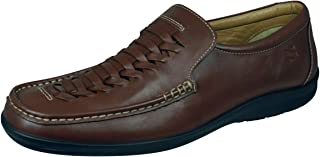 Sledgers Gregory Loafer Chaussures en Cuir à Enfiler pour Hommes