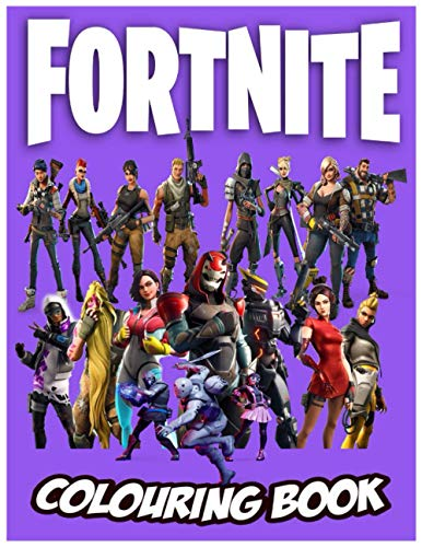 Fortnite Colouring Book: Fortnite Coloring Book +100 coloring pages for kids and adults , fantastic skins,Weapons and game items wonderful activity fortnite gifts for enjoy