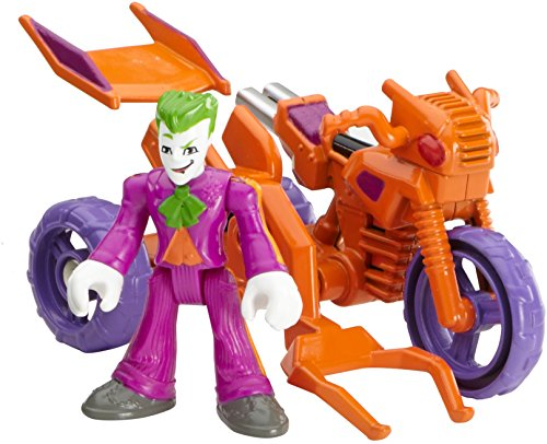 Imaginext 2016 The Joker & Cycle by Streets Of Gotham City 3