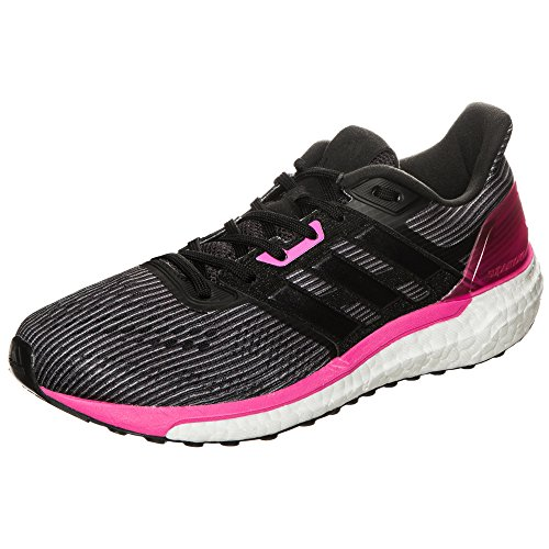 adidas Supernova, Zapatillas de Running para Mujer, Negro (Utility Black/Core Black/Shock Pink), 37 1/3 EU