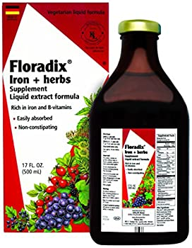 Floradix Iron & Herbs Energy Support Liquid Extract 17 oz