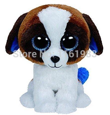 TY Beanie Boos Duke the Dog 15cm PLUSH Toys