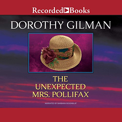 The Unexpected Mrs. Pollifax audiobook cover art