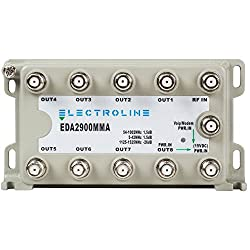 professional Elektrolin EDA2900MMA 8-port RF / CATV distribution amplifier