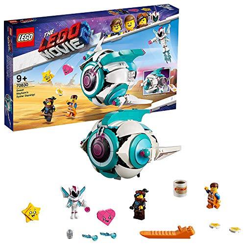 LEGO MOVIE 2 - Le vaisseau spatial Systar de Sweet Mayhem ! - 70830 -...