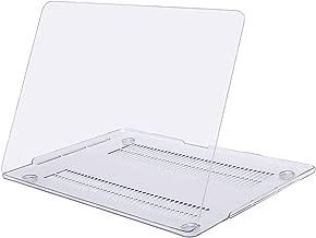 MOSISO Funda Dura Compatible con 2019 2018 2017 2016 MacBook Pro 13 con/sin Touch Bar A2159 A1989 A1706 A1708 USB-C, Ultra Delgado Carcasa Rígida Protector de Plástico Cubierta, Claro Transparente