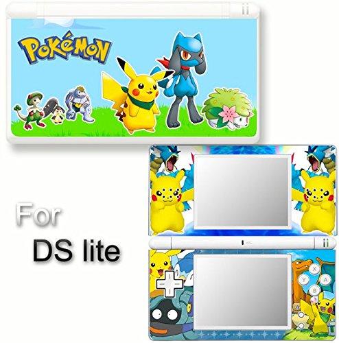 Pokemon SKIN DECAL COVER STICKER #2 for Nintendo DS lite