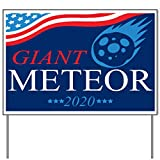 M&R Giant Meteor 2020 - Style 1 18x24 Yard Sign