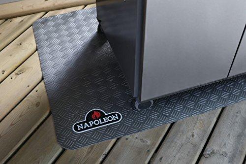 Napoleon Grillmatte-/Unterlage, 119.5 x 81.5 cm, schwarz, 40 x 33 x 1 cm, 1 ml, 68001