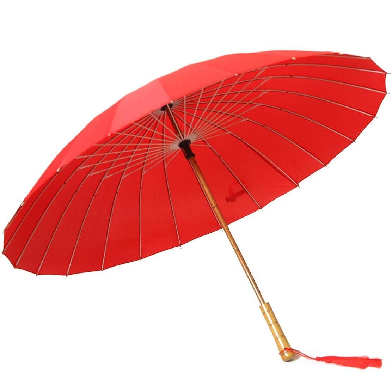 里親シリーズ大使Komori 長傘 和傘 紳士傘 UVカット メンズ レディース 古代のスタイル 写真撮影傘 ウェディング傘 丈夫 撥水 耐風 軽量 大型 梅雨対策 晴雨兼用 永久保証付き