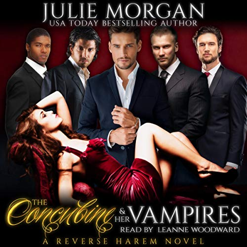 The Concubine and Her Vampires: A Reverse Harem Vampire Paranormal Romance cover art