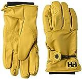 Helly Hansen VOR Guantes, Hombre, Amarillo, One Size (Tamaño del Fabricante:S)
