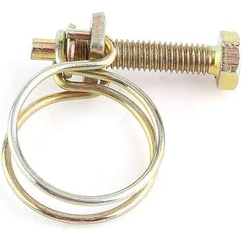 Collier de serrage double fil m/étal W1 33-36 mm 2.2 mm M6x40