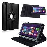 NAUC Tablet Hülle für Haier Pad 971 Tablet Tasche Schutzhülle Universal Bag Etui, Farben:Schwarz