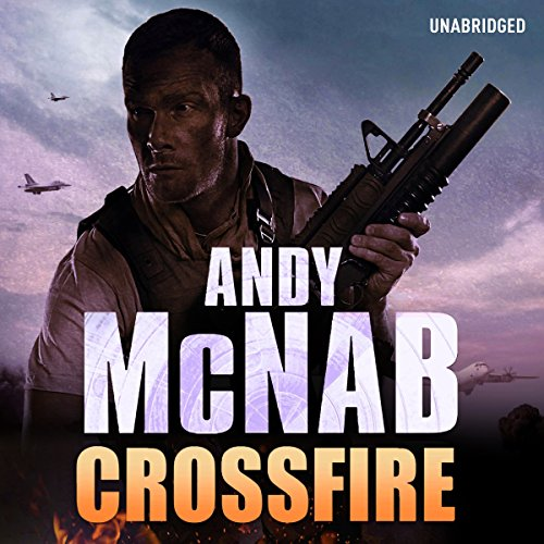Crossfire audiobook cover art