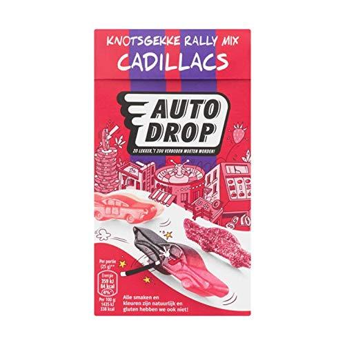 Weiche Süßigkeit | Autodrop | Crazy Rally Mix Cadillacs | Gesamtgewicht 270 Gramm