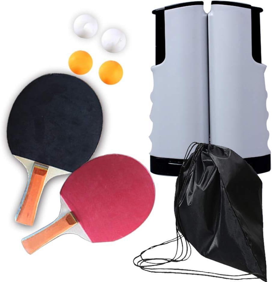 SunRay Ping Washington Mall Pong Paddle Set Max 58% OFF with Retra 1 Rackets Tennis 2 Table