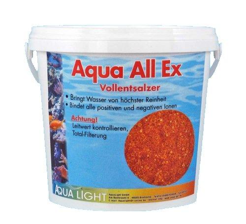 AquaAllEx Vollentsalzerharz 1 Liter