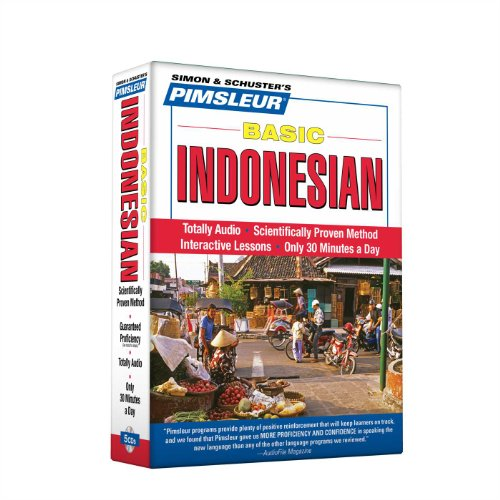 Compare Textbook Prices for Pimsleur Indonesian Basic Course - Level 1 Lessons 1-10 CD: Learn to Speak and Understand Indonesian with Pimsleur Language Programs 1 10 Lessons Edition ISBN 9780743598835 by Pimsleur