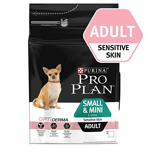 Pro Plan Dog Small en Mini Adult Sensitive Skin, rijk aan zalm, zak voor droogvoer