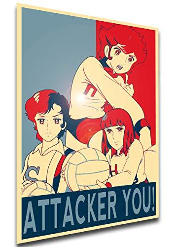 Instabuy Poster - LL0571 - Propaganda - Attacker You! - Mila & Shiro - Characters Variant 01