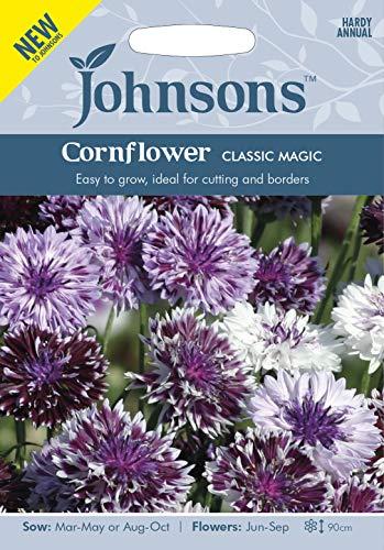 Johnsons Seeds Graines de bleuet magiques classiques - 1