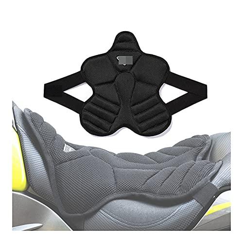 KIILING Cojín de Asiento de Motocicleta Cojín de Aire 3D para Bicicleta eléctrica para Bicicleta eléctrica para F800GS para versys 650 MT07 MT09 para Vespa Universal Moto (Color : Type A)
