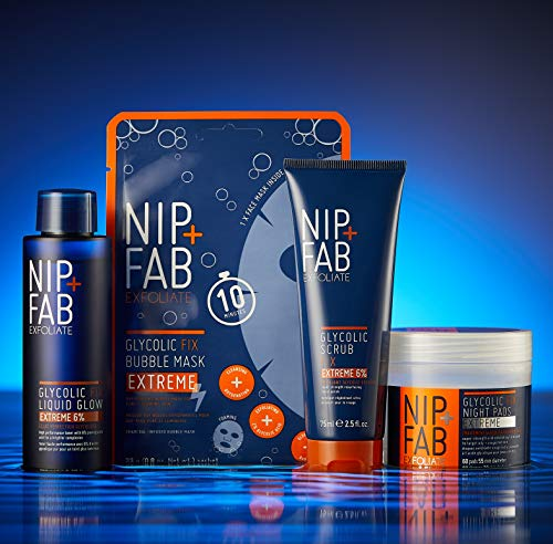 Nip+Fab Glycolic Fix Extreme Night Pads, 60 pads
