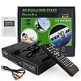 Free to Air FTA HD Smart Digital Satellite TV Receiver DVB-T2+DVB-S2 1080P Decoder Tuner MPEG4