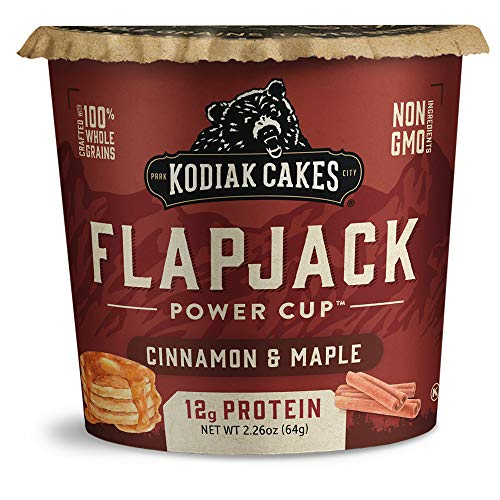 Kodiak Cakes Pancake On the Go, Cinnamon and Maple, 2.26 Ounce (Pack of 12)