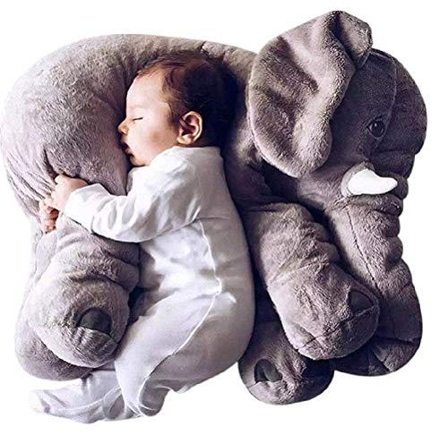 DearJoy Baby Elephant Pillow (Grey)