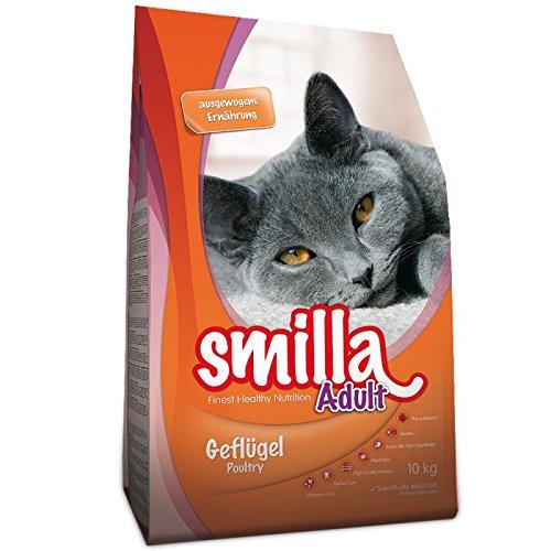 Smilla Erwachsene Geflügel 10kg. Eine Gesunde ausgewogenen Katzenfutter