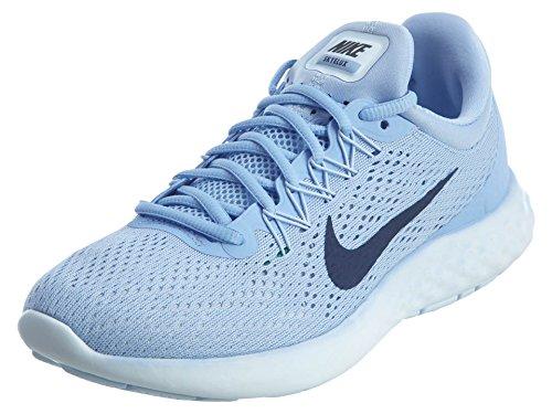 Nike Damen WMNS LUNAR Skyelux Laufschuhe, Blau (Aluminum/medium Blue/Binary Blue), 39 EU