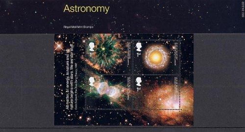 Royal Mail 2002 Astronomía - Sellos Paquete de presentación - 339