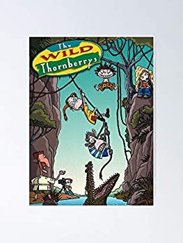 The Wild Thornberrys Poster 12.75  X 17  Inch No Frame Board for Office Decor Best Gift Dad Mom Grandmother and Your Friends