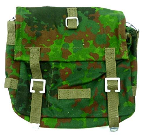 Herren Damen Outdoor Taschen klein Militär Bundeswehr Canvas 30cm: Farbe: Flecktarn 5272