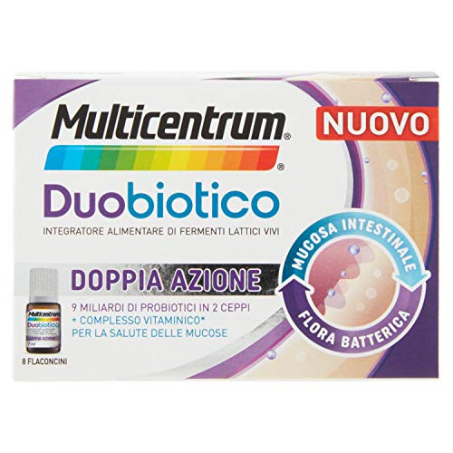 MULTICENTRUM Duobiotico 8 Flaconcini - 56 ml