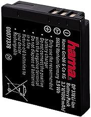 Hama Akumulator litowo-jonowy DP 378 (do Panasonic CGA-S005E, identyczny z Panasonic CGA-S005E/Samsung IA-BH125C/Fuji NP-70/Leica BP-DC4/Ricoh DB60) czarny
