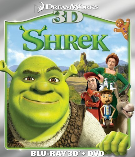 Shrek (Two-Disc Blu-ray 3D/DVD Combo) by DreamWorks Animated