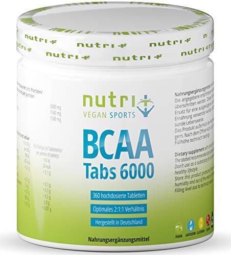 Nutri-Plus Mega Tabs 6000 BCAA-Tabletten